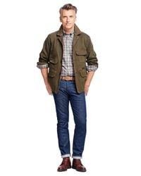 Brooks Brothers | Green And Beretta Cotton Jacket for Men | Lyst