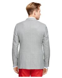 Brooks Brothers - Gray Fitzgerald Fit Two-button Sport Coat for Men - Lyst
