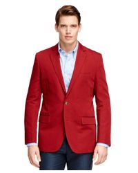 Brooks Brothers - Red Fitzgerald Fit Two-button Sport Coat for Men - Lyst