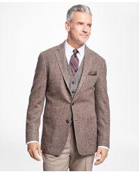 Brooks Brothers - Brown Regent Fit Donegal Sport Coat for Men - Lyst