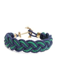 Brooks Brothers | Green Kiel James Patrick Braided Bracelet for Men | Lyst