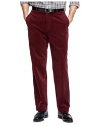 Brooks Brothers | Red Hudson Fit Wide Wale Corduroys for Men | Lyst
