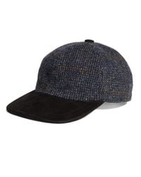 Brooks Brothers | Blue Harris Tweed Baseball Cap for Men | Lyst