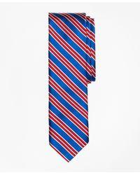 Brooks Brothers   Blue Multi-stripe Slim Tie for Men   Lyst