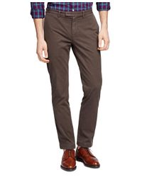 Brooks Brothers | Purple Slim Fit Garment-dyed Chinos for Men | Lyst