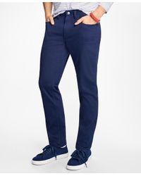 Brooks Brothers | Blue Five-pocket Bedford Cords for Men | Lyst