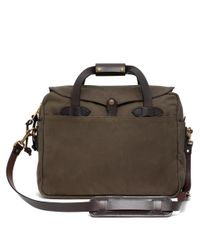 Brooks Brothers | Green Filson® Twill Computer Briefcase Bag for Men | Lyst