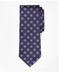 Brooks Brothers   Blue Large Medallion Tie for Men   Lyst