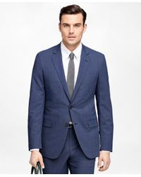 Brooks Brothers - Blue Fitzgerald Fit Brookscool® Check Suit for Men - Lyst