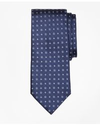 Brooks Brothers - Blue Textured Four-dot Flower Tie for Men - Lyst