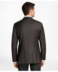 Brooks Brothers - Brown Regent Fit Multi-check Sport Coat for Men - Lyst