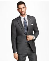 Brooks Brothers - Gray Madison Fit Alternating Stripe 1818 Suit for Men - Lyst