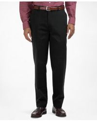 Brooks Brothers - Black Clark Fit Plain-front Lightweight Advantage Chinos® for Men - Lyst