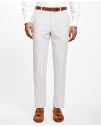 Brooks Brothers - White Fitzgerald Fit Seersucker Suit for Men - Lyst