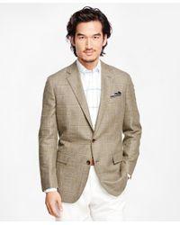 Brooks Brothers - Green Regent Fit Windowpane Sport Coat for Men - Lyst