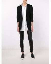 FRAME - White Classic Long Shirt - Lyst