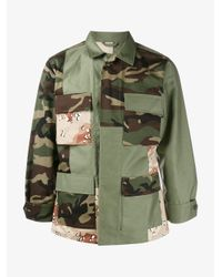 Sophnet - Natural Mixed Camo Jacket for Men - Lyst