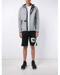Y-3 - Black Zip-up Hoodie for Men - Lyst
