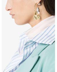 Ellery - Metallic Gold Collage Earrings - Lyst