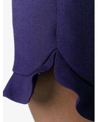 Fendi - Multicolor Ruffle Trim Shorts - Lyst