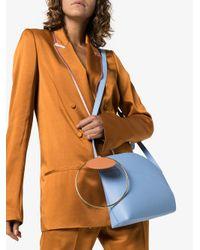 Roksanda - Blue Eartha Medium Leather Shoulder Bag - Lyst