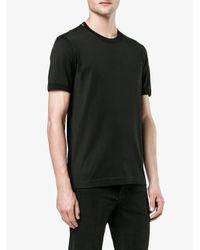Dolce & Gabbana - Black Classic Cotton T-shirt for Men - Lyst
