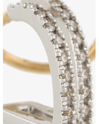Maria Black - Metallic Bess Blanc Twirl Earring - Lyst