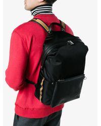 Fendi - Black Technical Sports Backpack for Men - Lyst