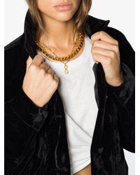 Jelena Behrend - Metallic 24kt Yellow Gold Baltic Cube Link Necklace - Lyst