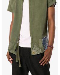 Greg Lauren - Green Army Tent Shirt for Men - Lyst