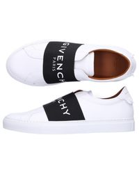 Givenchy - Slip-on Urban Smooth Leather Logo White for Men - Lyst