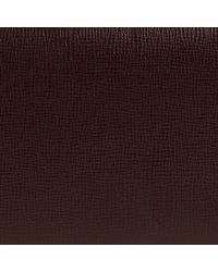 Burberry - Purple London Leather Wallet  for Men - Lyst