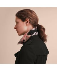 Burberry - The Chelsea – Mid-length Heritage Trench Coat In Black - Women | - Lyst
