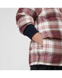 Burberry - Multicolor Check Down-filled Puffer Jacket - Lyst