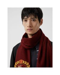 Burberry - Multicolor The Classic Cashmere Scarf With Archive Logo for Men - Lyst