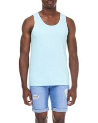 Burton - Blue Turquoise Textured Vest for Men - Lyst