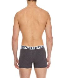 Burton - Black 3 Pack Assorted Trunks for Men - Lyst