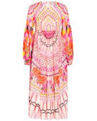 Temperley London | Pink Day Dream Printed Dress | Lyst