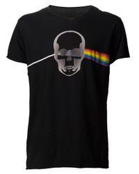 Lucien Pellat Finet | Black Rainbow Skull T-Shirt for Men | Lyst