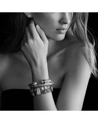 David Yurman - Blue Mosaic Bracelet - Lyst