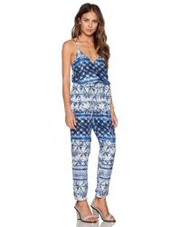 Rory Beca | Blue Bas Jumpsuit | Lyst