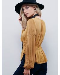 Free People | Orange Endless Summer Womens Love You More Top | Lyst