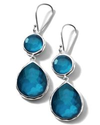 Ippolita - Blue 'wonderland - Rainbow' Drop Earrings - Lyst