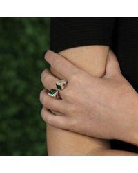 Inbar - Green Emerald Bypass Ring - Lyst