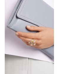 Pippa Small   Metallic 18-Karat Gold Herkimer Diamond Ring   Lyst