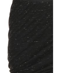 Enza Costa Black Double Skirt