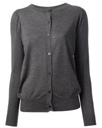 Marni - Gray Buttoned Cardigan - Lyst