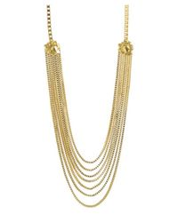 CC SKYE | Metallic The Goldie Statement Necklace | Lyst