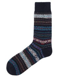 Barbour | Blue Boyd Striped Socks for Men | Lyst