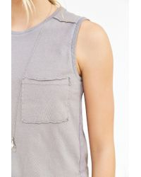 Truly Madly Deeply | Natural Pocket Muscle Tank Top | Lyst